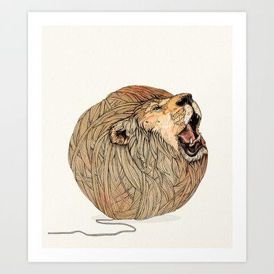 Unravel Me Art Print by Sandra Dieckmann - $18.00