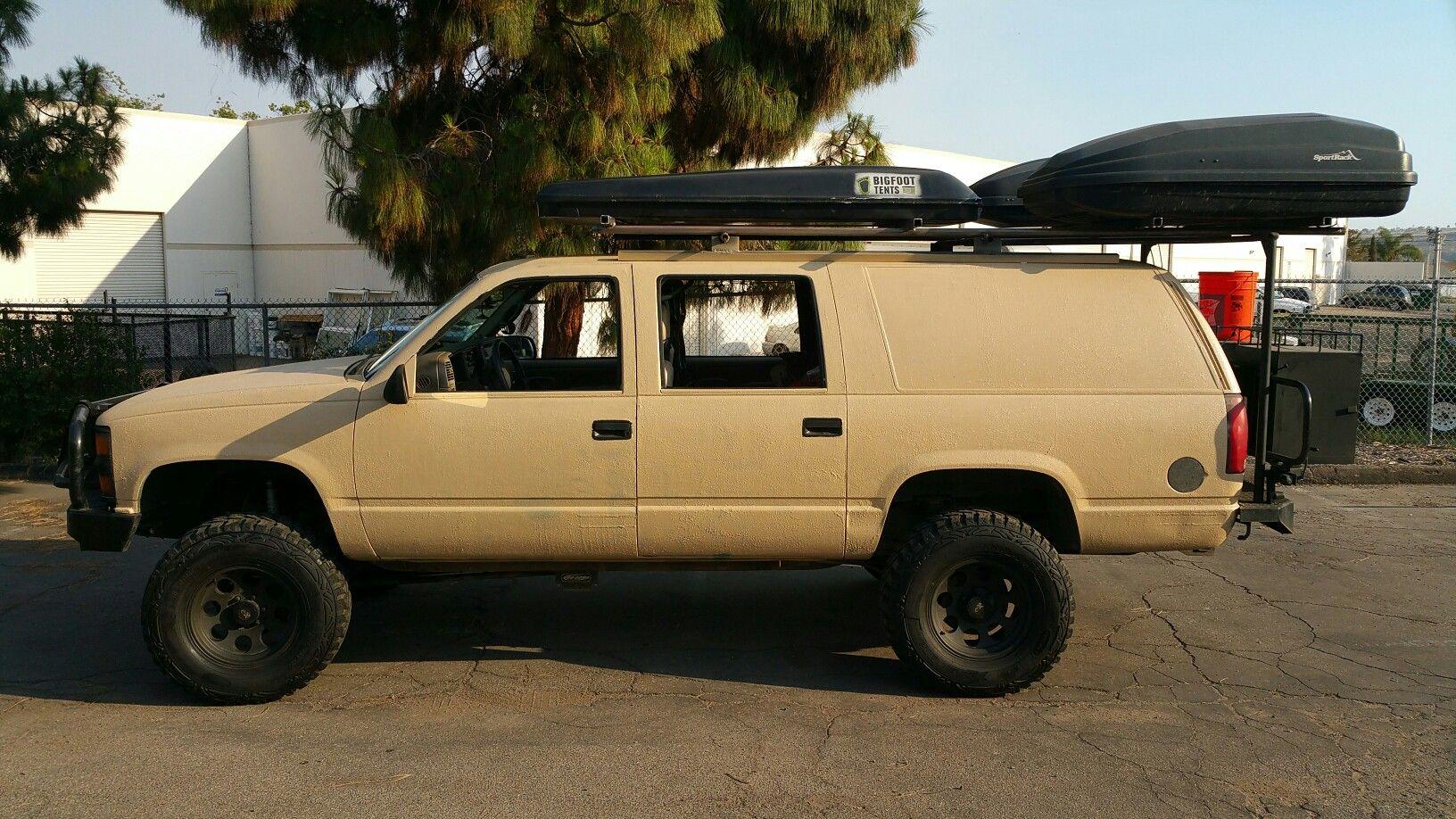 4x4 Chevy Suburban Chevy Suburban Chevrolet Suburban Truck Tent