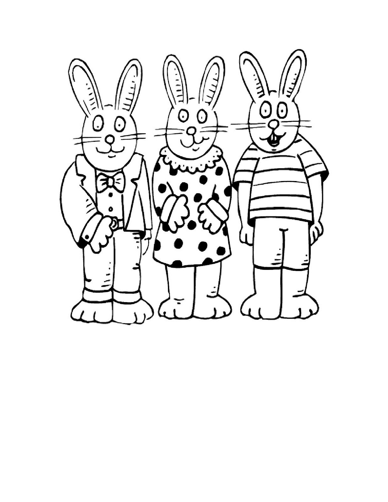 Easter Colouring Easter Bunny Colouring In Pages Easter Printables
