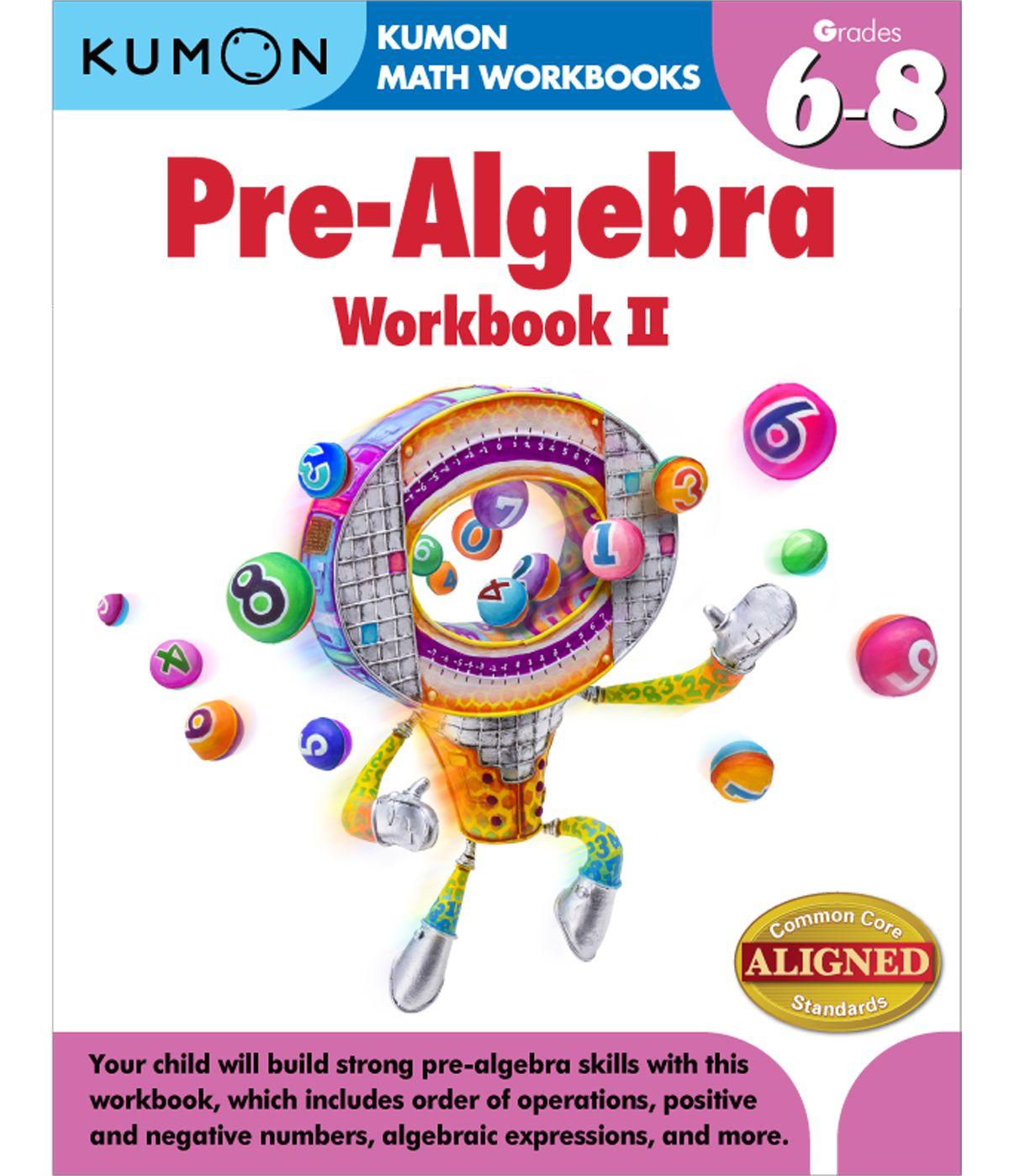 Pre Algebra Ii Grades 6 8