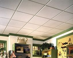 Armstrong Sahara 2x2 Drop Ceiling Panels Dropped Ceiling Ceiling Panels Drop Ceiling Panels