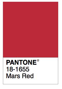 Mars Red Pantone Color Colour Palettes Sailor Schemes