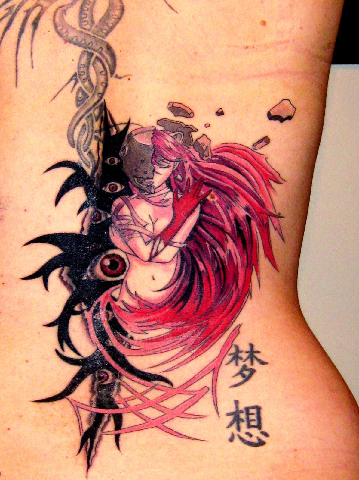 Tattoo elfen lied buscar con google body modification - Fotos de parejas en blanco y negro ...