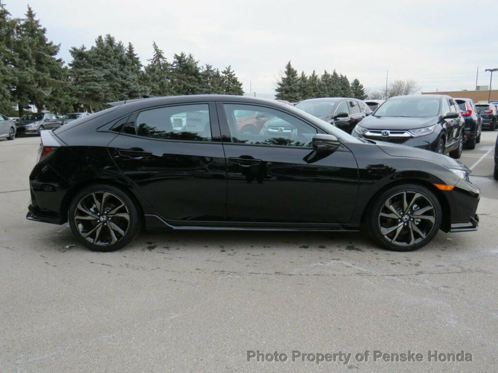 Used 2019 Honda Civic Hatchback Sport Touring CVT port