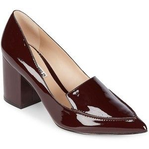 8c89bc28f752 Karl Lagerfeld Paris Women s Aressa Patent Leather Point Toe Pumps ...