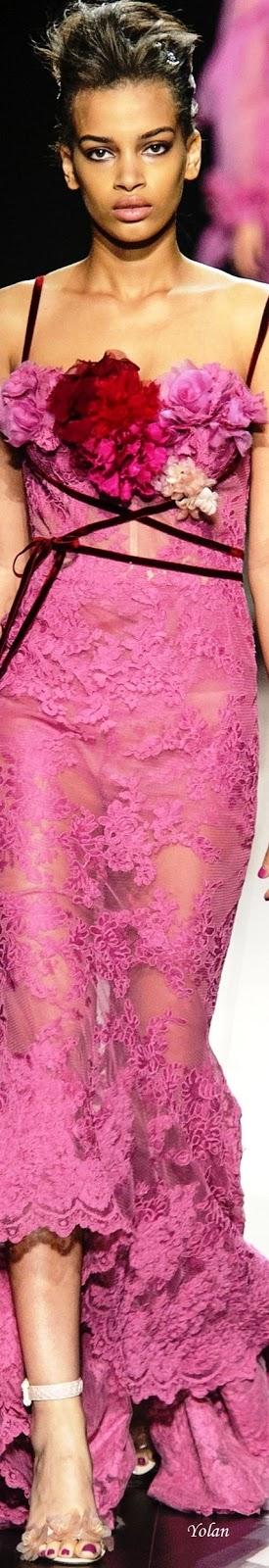 Marchesa Spring 2018 RTW | Vestidos largos de gala | Pinterest ...