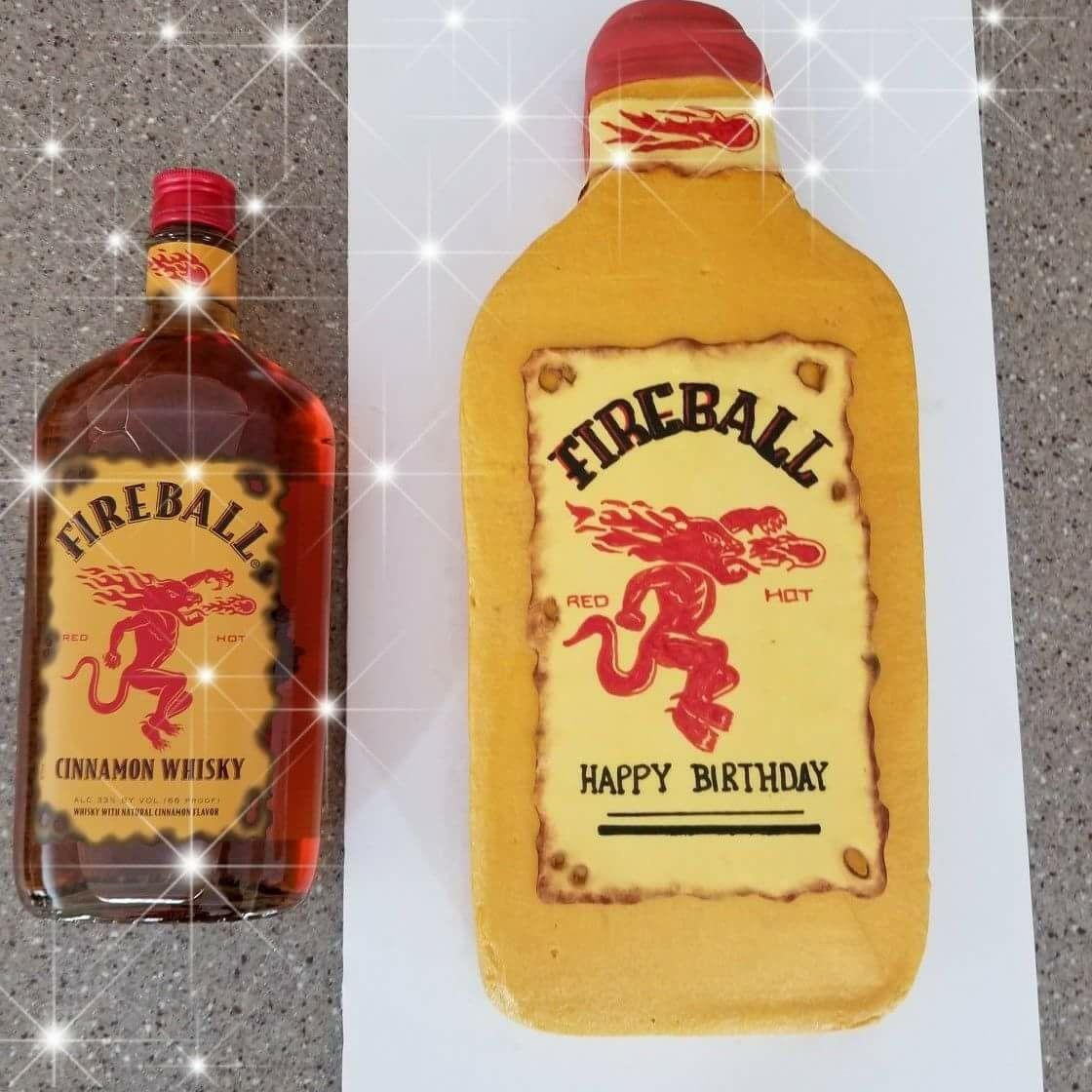 Jen May Cakes Fireball Whiskey Cake!