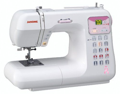 Janome DC4030 Pink Ribbon Computerized Sewing Machine with 3 $549