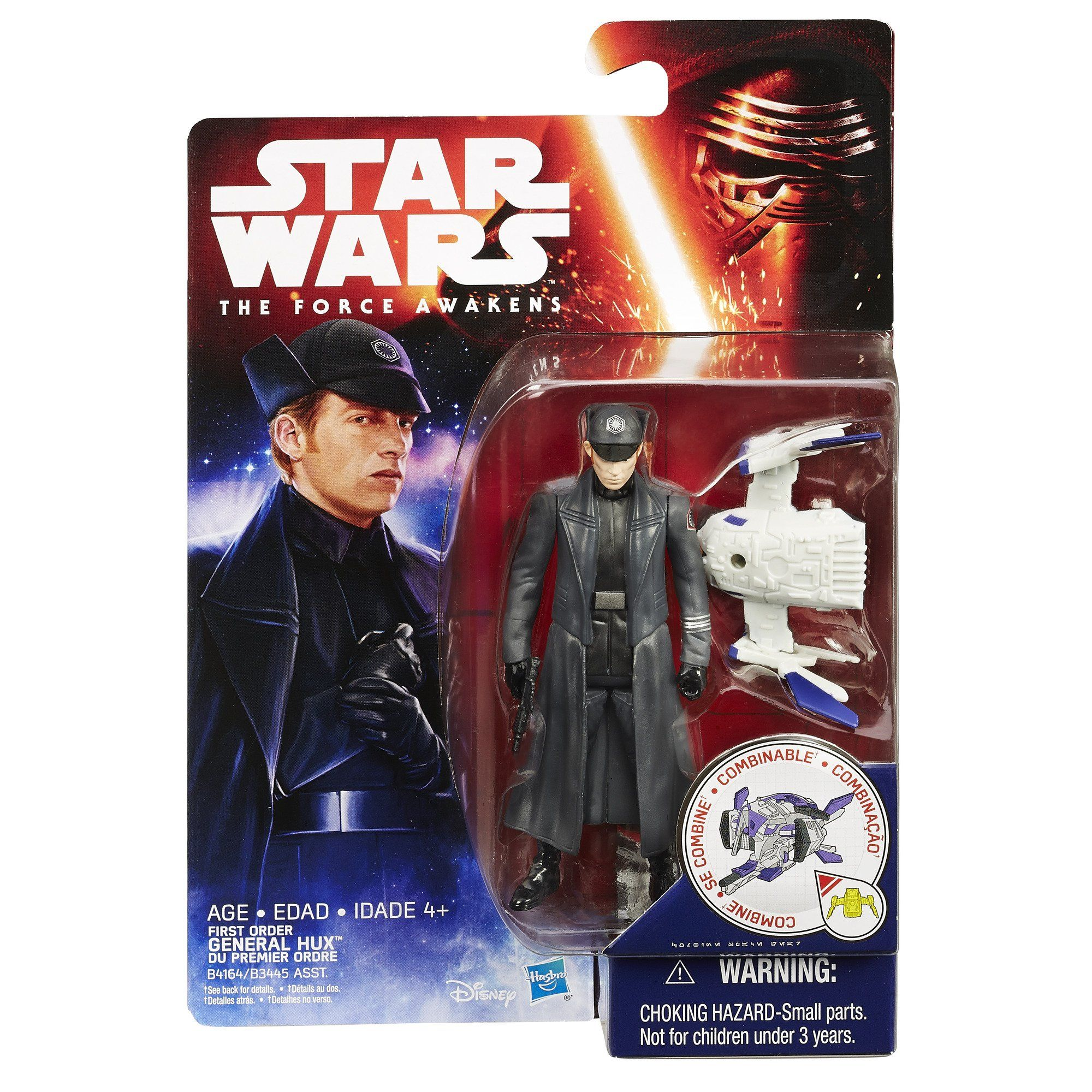 Star Wars General Hux 3.75 Inch Force Link Figure