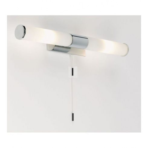 Endon lighting enluce 2 light halogen bathroom wall fitting in polished chrome finish endon lighting