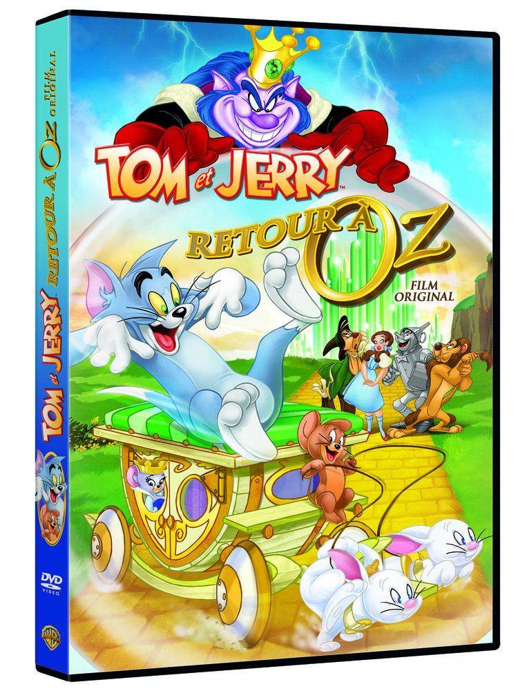 Tom Et Jerry De Retour Oz Francia Dvd De Jerry Tom Retour Tom Y Jerry Dibujos Animados Tom Y Jerry Carteles De Peliculas