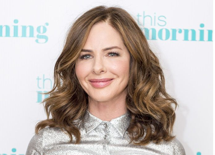 Hiding Grey Hair With Balayage Trinny Woodall Has An Easy Trick For Hiding Greys Brown