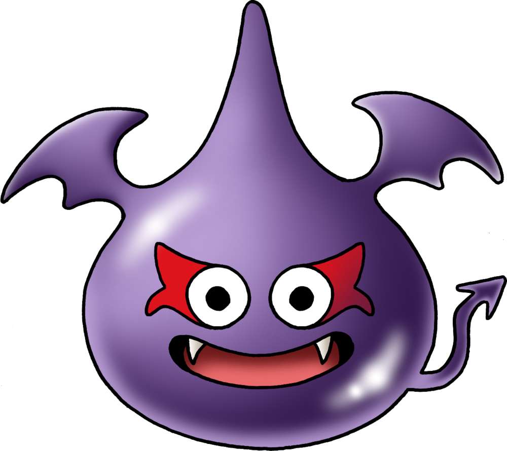 Slime Family Dragon Quest Monster Design Dragon Knight