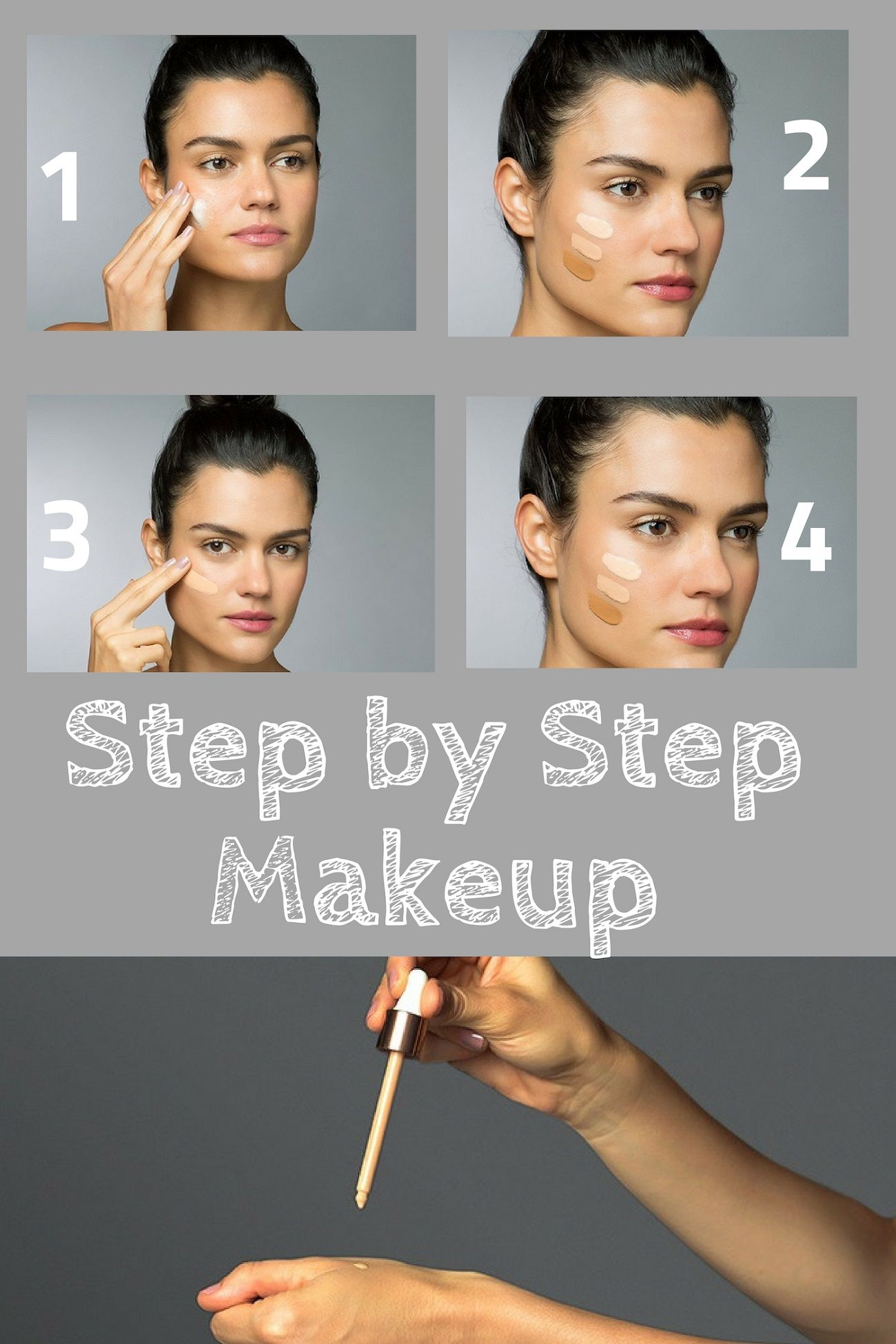 STEP BY STEP MAKEUP Tutorial FOR PERFECT SKIN (With