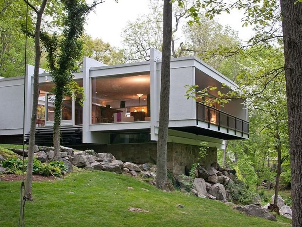 Amazeballs Mid Century Modern House With Steel Columns