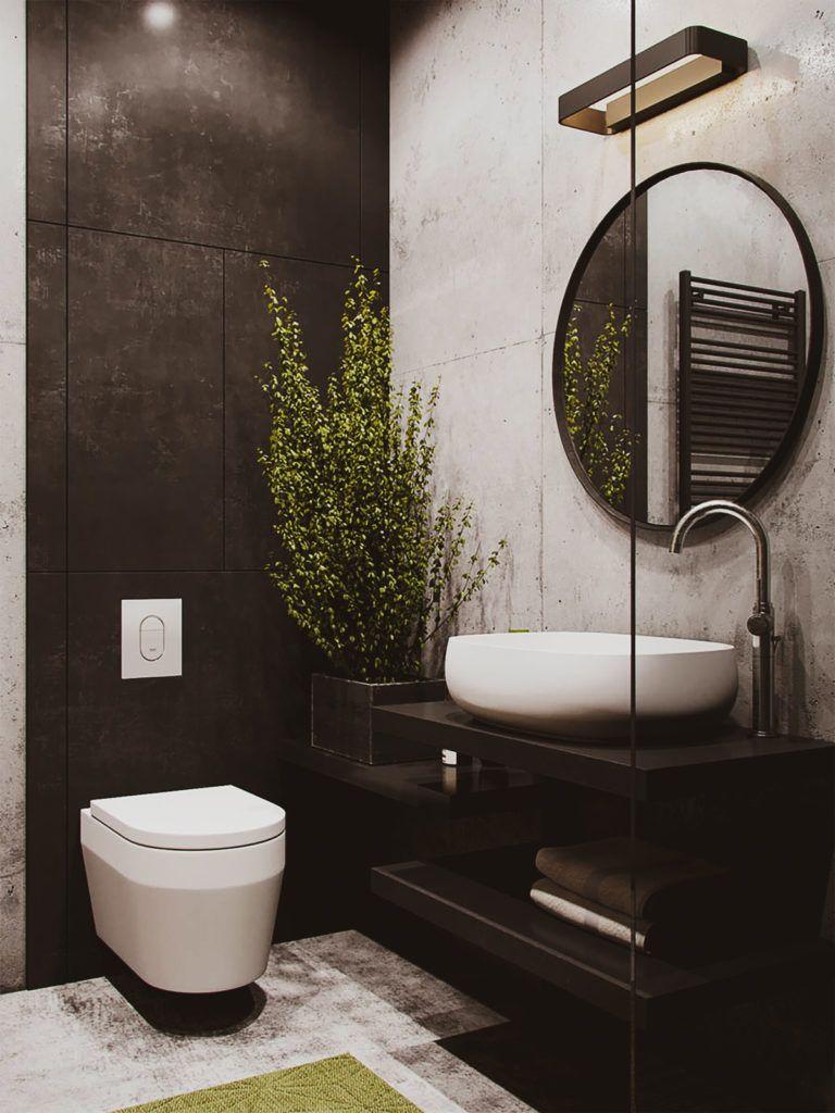 Ideias para Banheiros Pequenos e Modernos #casa