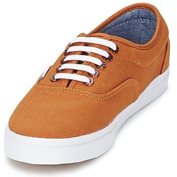 Vans Authentic Lo Pro Marron | Vans chaussures, Chaussure