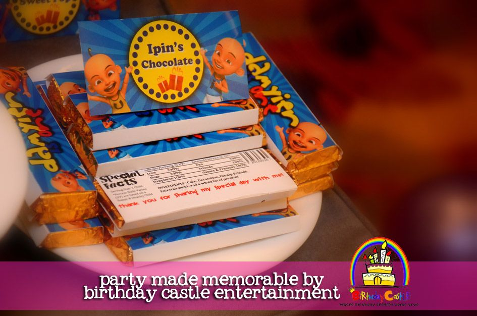 Upin ipin party by birthday castle theme birthday parties upin ipin party by birthday castle stopboris Image collections