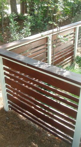 Furniture Stuff Modern Home Fencing And Gates Wilmington By Glover Design Llc Fence Design Modern Fence Modern Fence Design