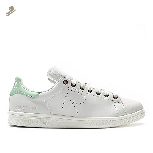 adidas donne raf simons stan smith vintage bianco / rosso verde