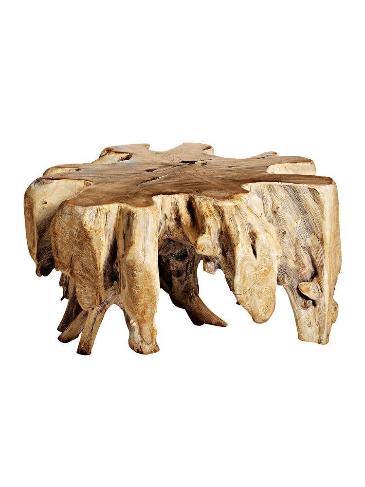 Table basse en bois originale pi ces uniques pinterest - Helline table basse ...