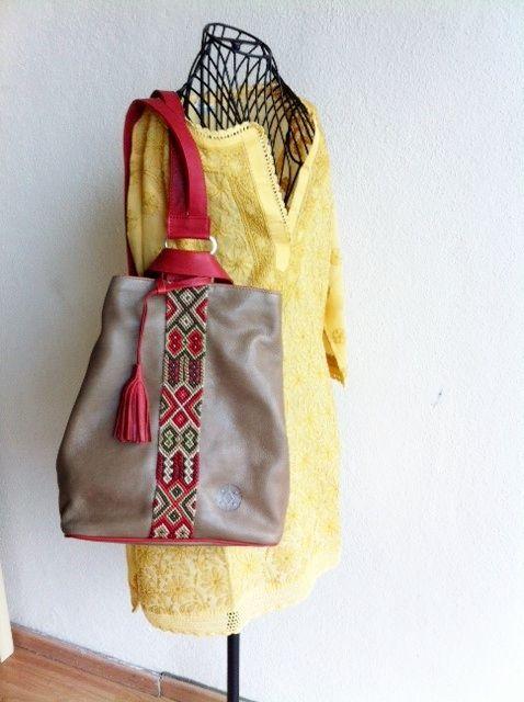 d0b918b31 Back Pack de Piel.   Consulta disponibilidad en cristinaorozco.mx ...