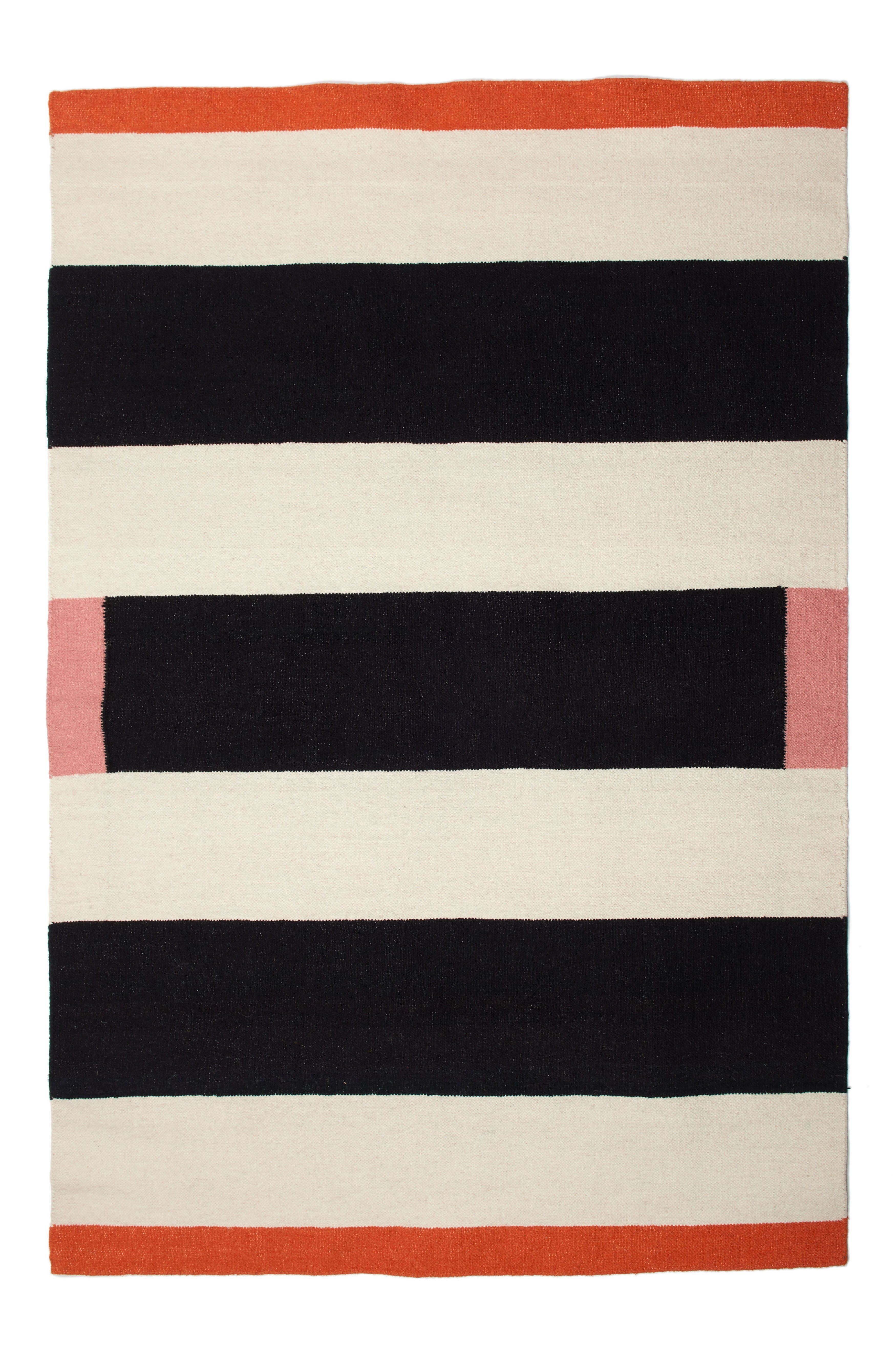 Simone Flat Weave Rug Woven Rug Rugs Striped Rug