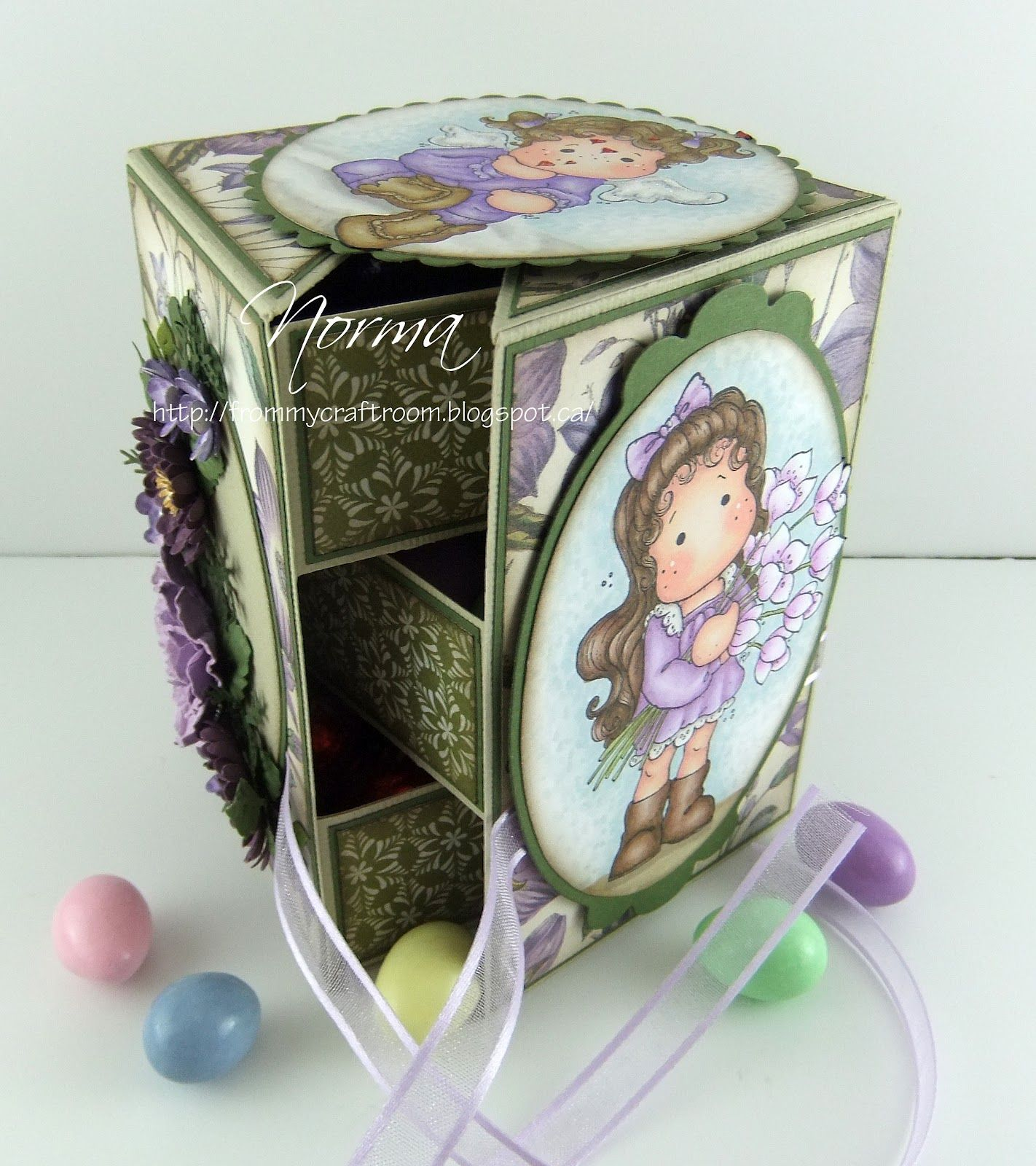 How to scrapbook a box - This Is A Tutorial On How To Make A Secret Box Like