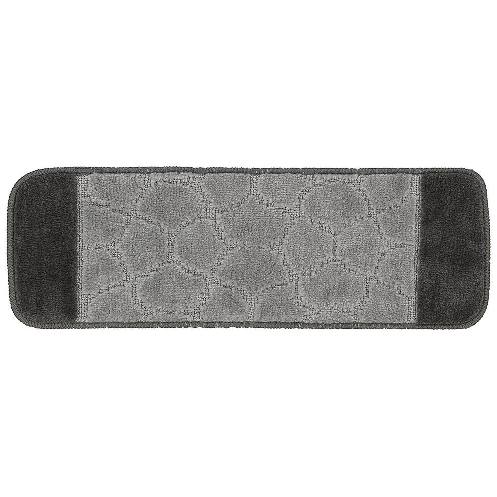 Best Ottomanson Softy Collection Grey Bordered Design 9 In X 640 x 480