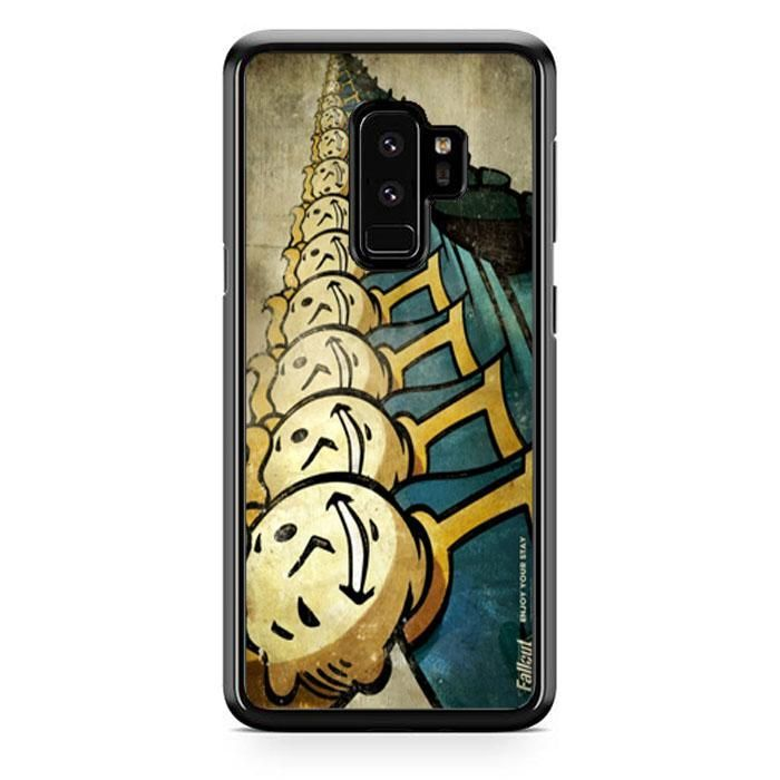 Fallout 3 Vault Boy Wallpapers Wide Samsung Galaxy S9 Plus Case | Babycase