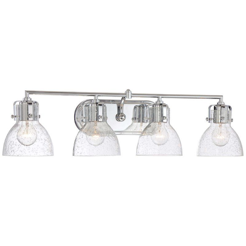 Anouk 4 Light Vanity Light Bathroom Light Fixtures Chrome Bath Vanity Lighting Vanity Lighting