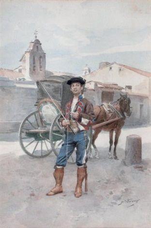 Jules Worms - Cocher en Espagne