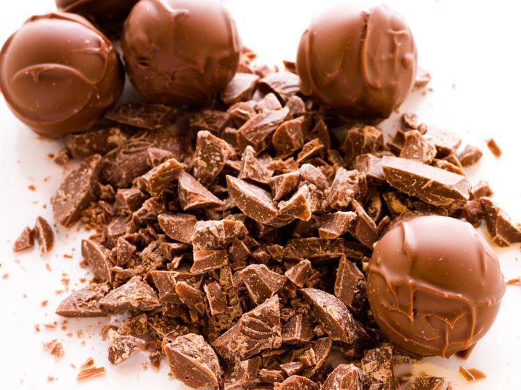 Truffes vanillées au chocolat au lait - Recettes