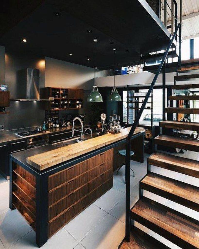 25 Amazing Interior Design Ideas For Modern Loft #loftdesign