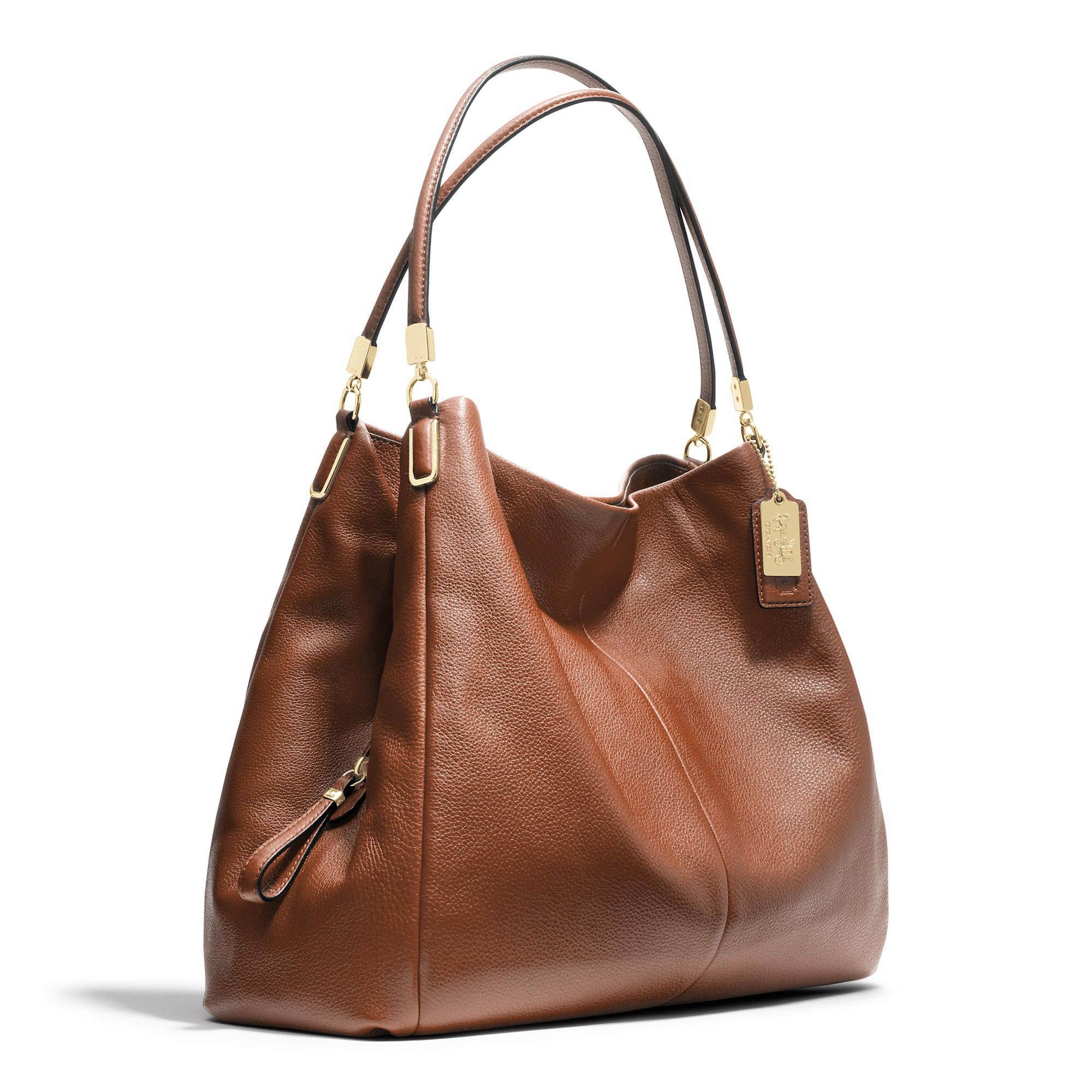 Coach Madison Phoebe Shoulder Bag In Leather This Looks Like It Could Transition From Grad School To New Job