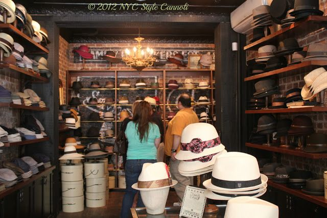 Nyc Style And A Little Cannoli Goorin Bros Hat Shop In The West Village Hat Shop Goorin Hats