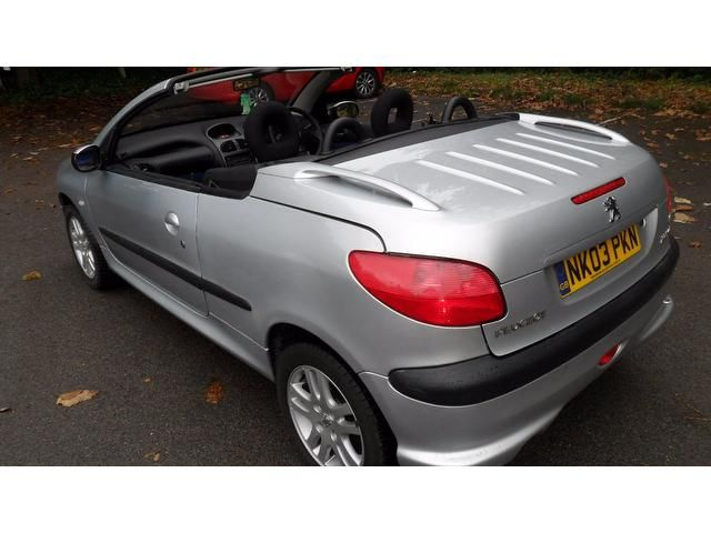 Used Peugeot 206 Convertible in Southampton, Hampshire Jp Motors