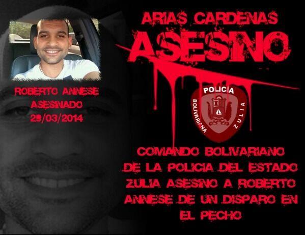 Arias Cárdenas asesino