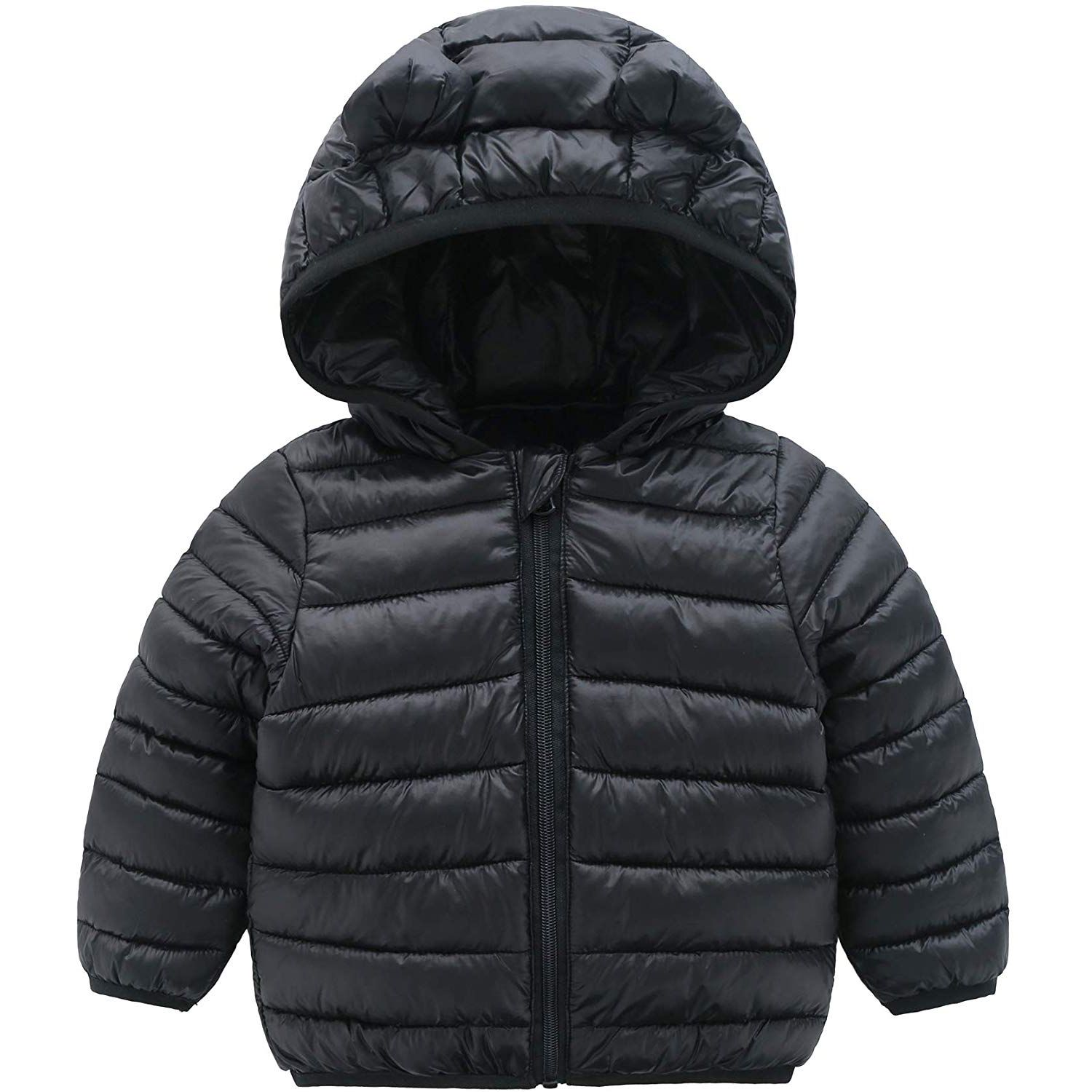 Winter Coats For Kids With Hoods Padded Light Puffer Jacket For Baby Boys Girls Infants Toddlers Kids Winter Coats Winter Coat Hooded Winter Coat [ 1500 x 1500 Pixel ]