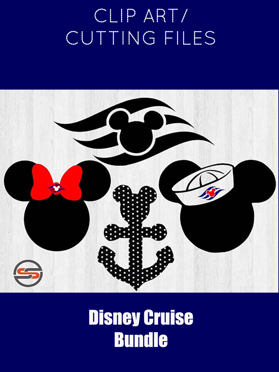 Disney Cruise Svg Dxf Mickey Mouse Sailor Ear Png Minnie Mouse Mickey Sailor Hat Disney