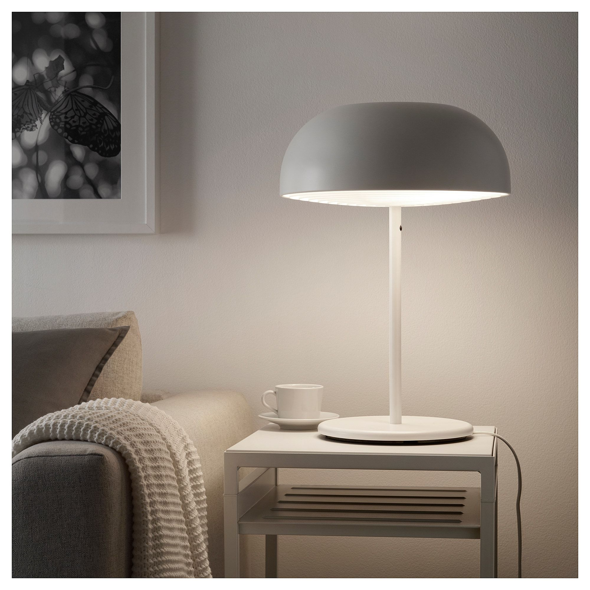 Nymane Table Lamp White Ikea Ireland Table Lamp White Table Lamp Lamp