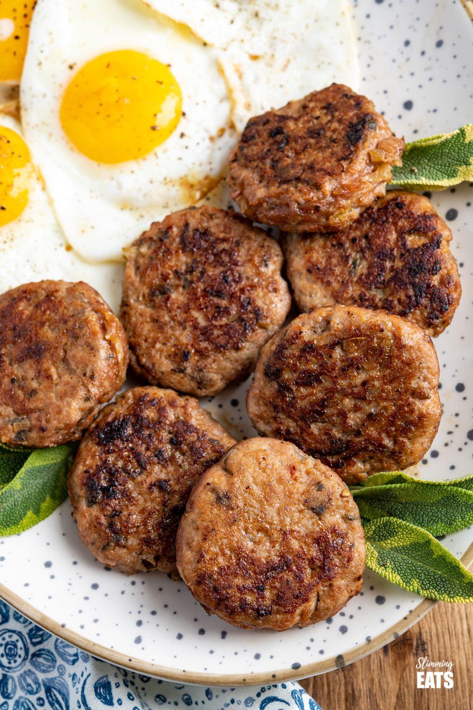 Turkey Breakfast Sausage Patties (Gluten Free) | Slimming Eats