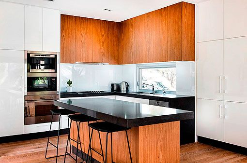 Casa actual y contemporánea en la costa australiana | Cocinas ...