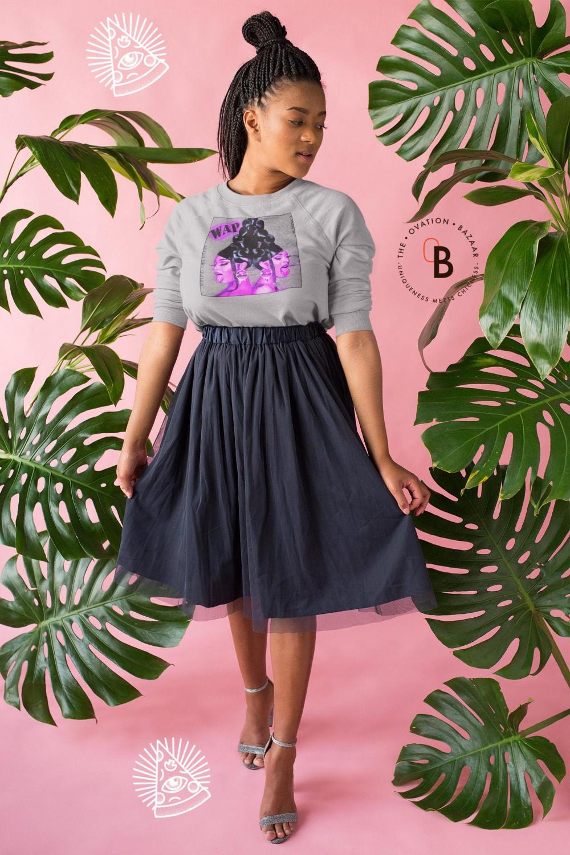 Wap Colorful Cardi B Megan Thee Stallion Glitched Design Etsy In 2020 Cardi B Halloween Hoodie Fashion