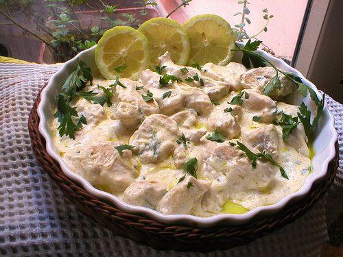 Pollo En Crema Pollo A La Crema Receta Pollo En Crema Recetas Con Pollo