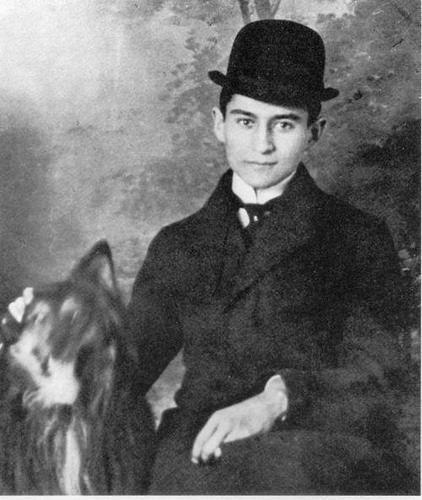 kafka and dog | literatur, schriftsteller, dichter und denker