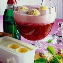 Kirschbowle eisgekrönt #refreshingsummerdrinks