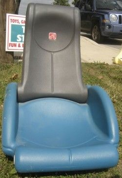 Step 2 Chair Leather Swivel Recliner Rock N Fold Plastic Rocking Gaming Used Stuff For