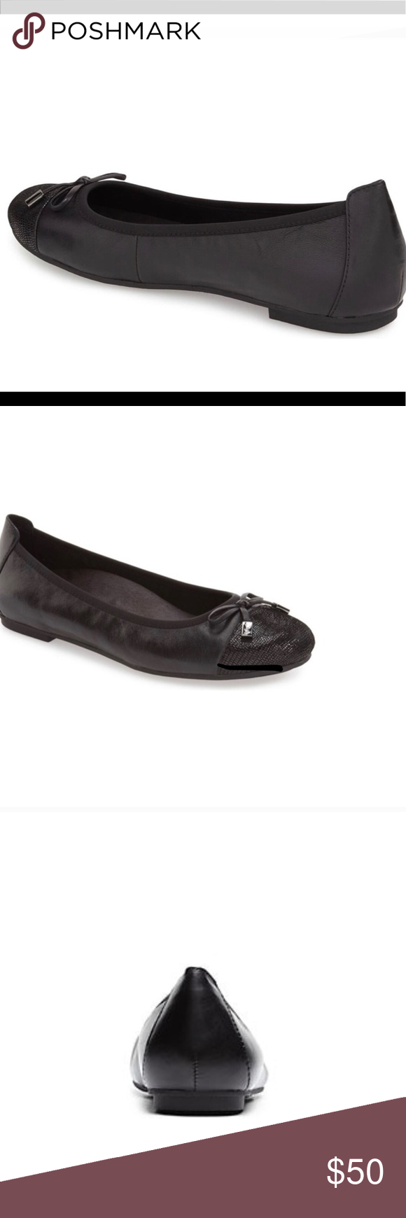 VIONIC MINNA BLACK LEATHER LOAFERS VIONIC Bold snakeskin embossed leather distin…
