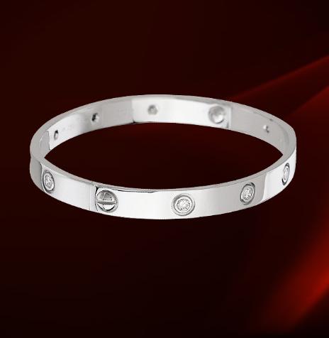 "Loving life"" Registry Check Cartier Love Bracelet"
